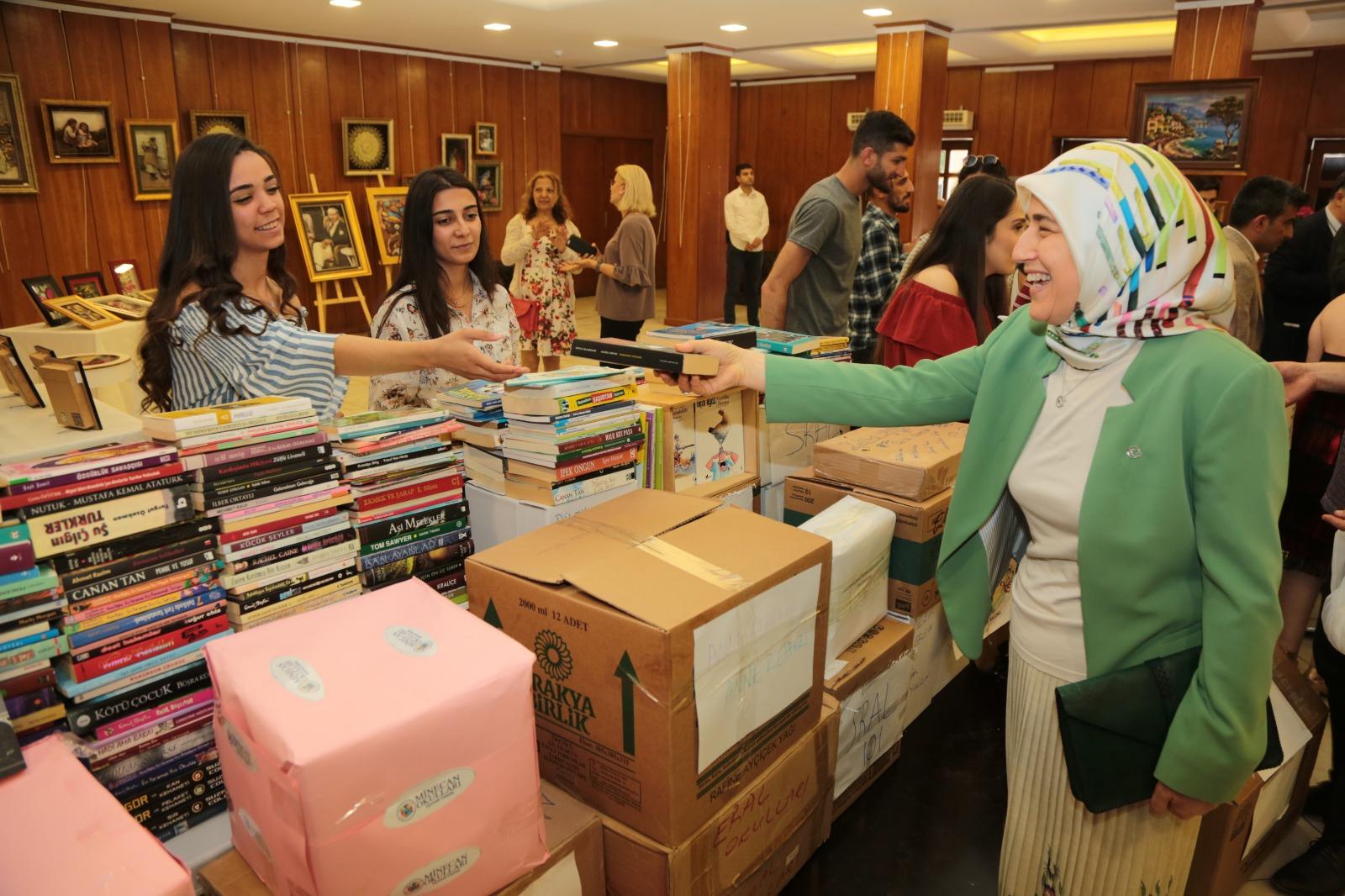 Beyhan Demirtaş, sosyal sorumluluk projesi etkinliğine katıldı