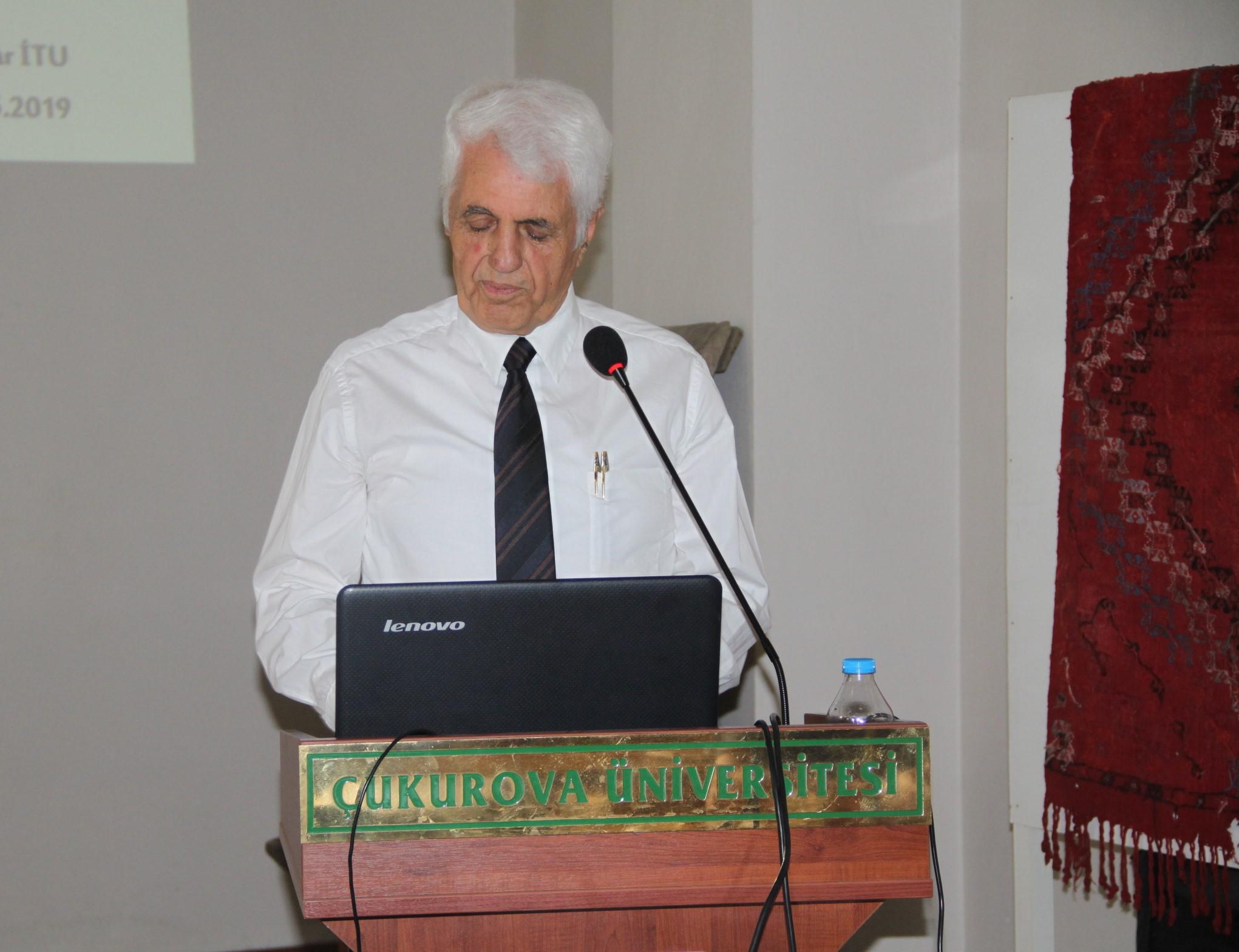 ÇÜTAM Kültür Konferansları devam ediyor