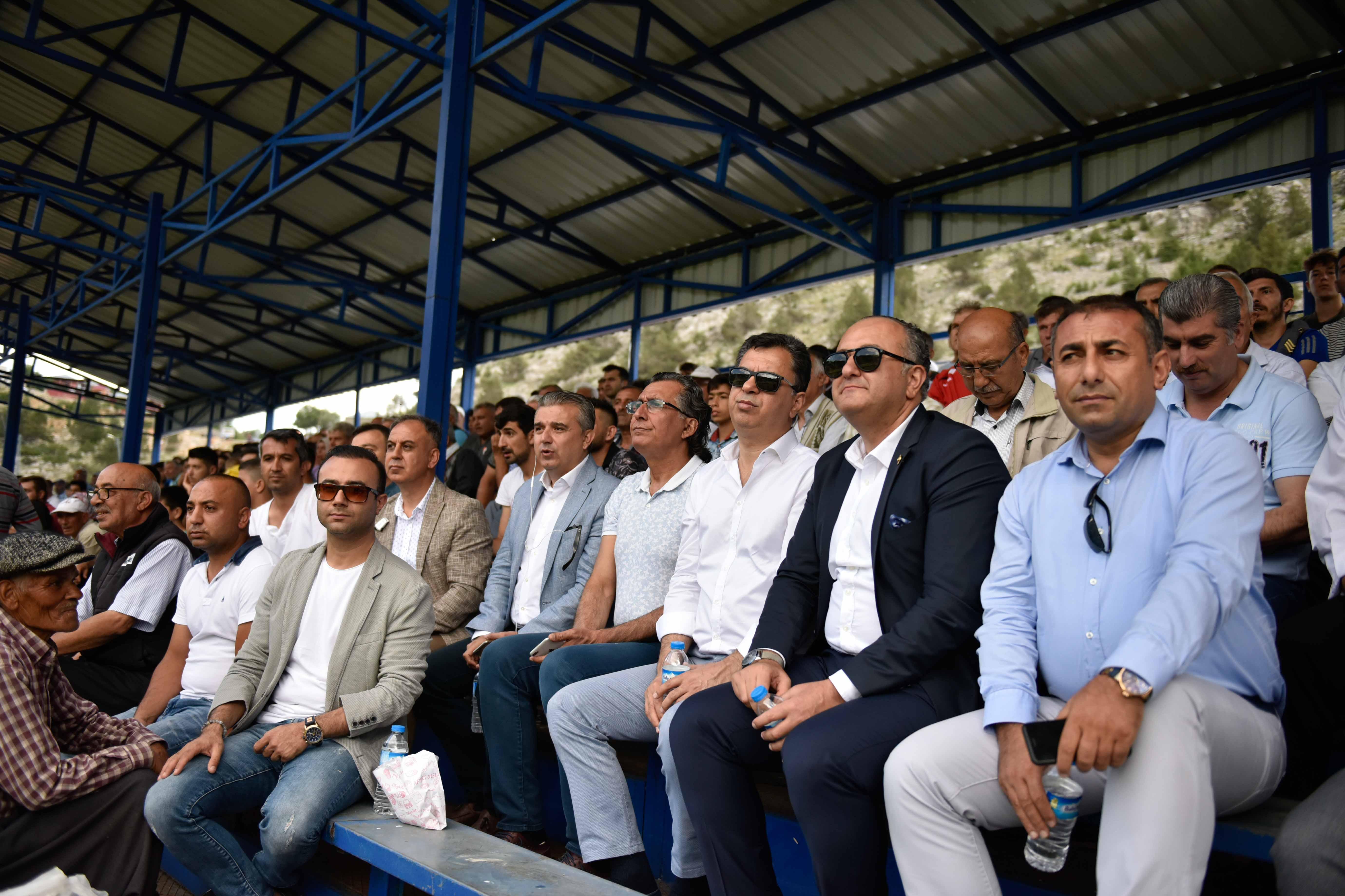 Kızıldağ Yaylası'nda futbol şöleni