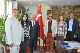 TESK Genel Başkanvekili Aksak Adana ESOB'u ziyaret etti