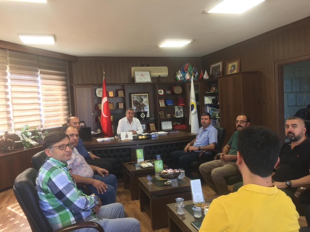 Ceyhan İlçe Emniyet Müdürü Berberoğlu CTO'yu ziyaret etti.