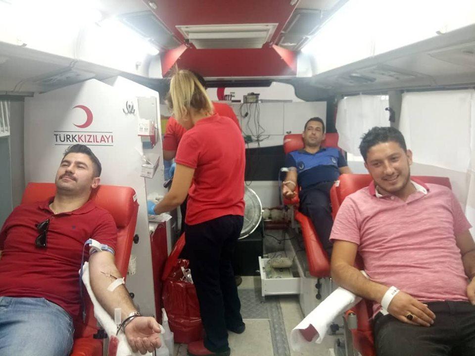 Karataş Belediyesinden Kan bağışı Etkinliği.