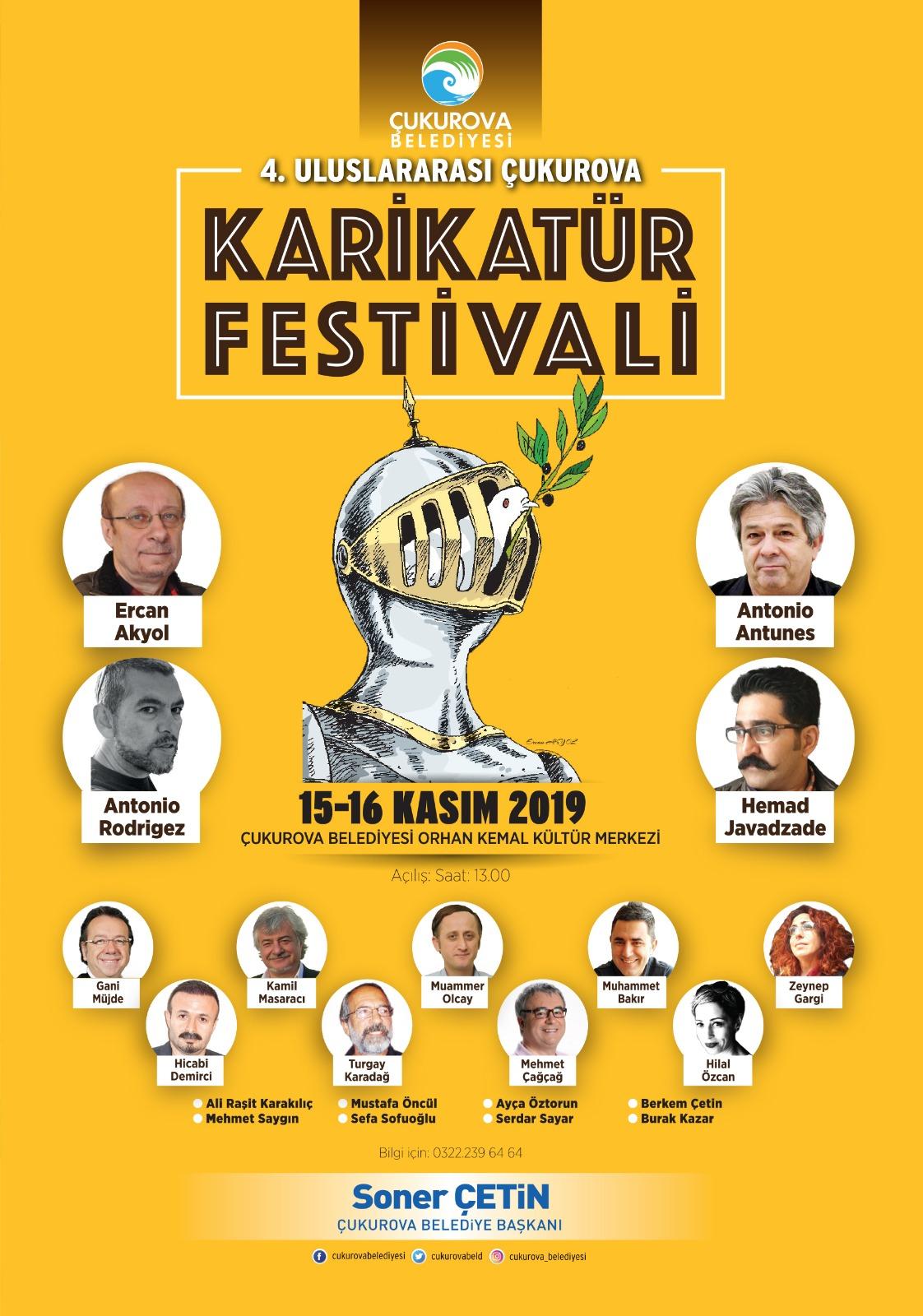 Karikatür Festivali için geri sayım başladı