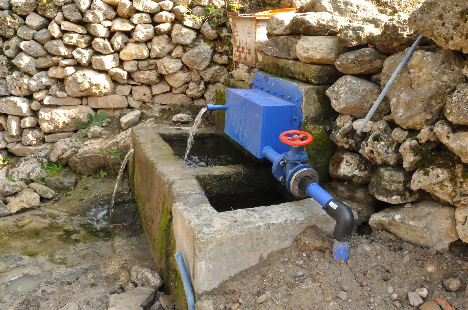 Büyükşehir'den Tufanbeyli'ye içme suyu hizmeti
