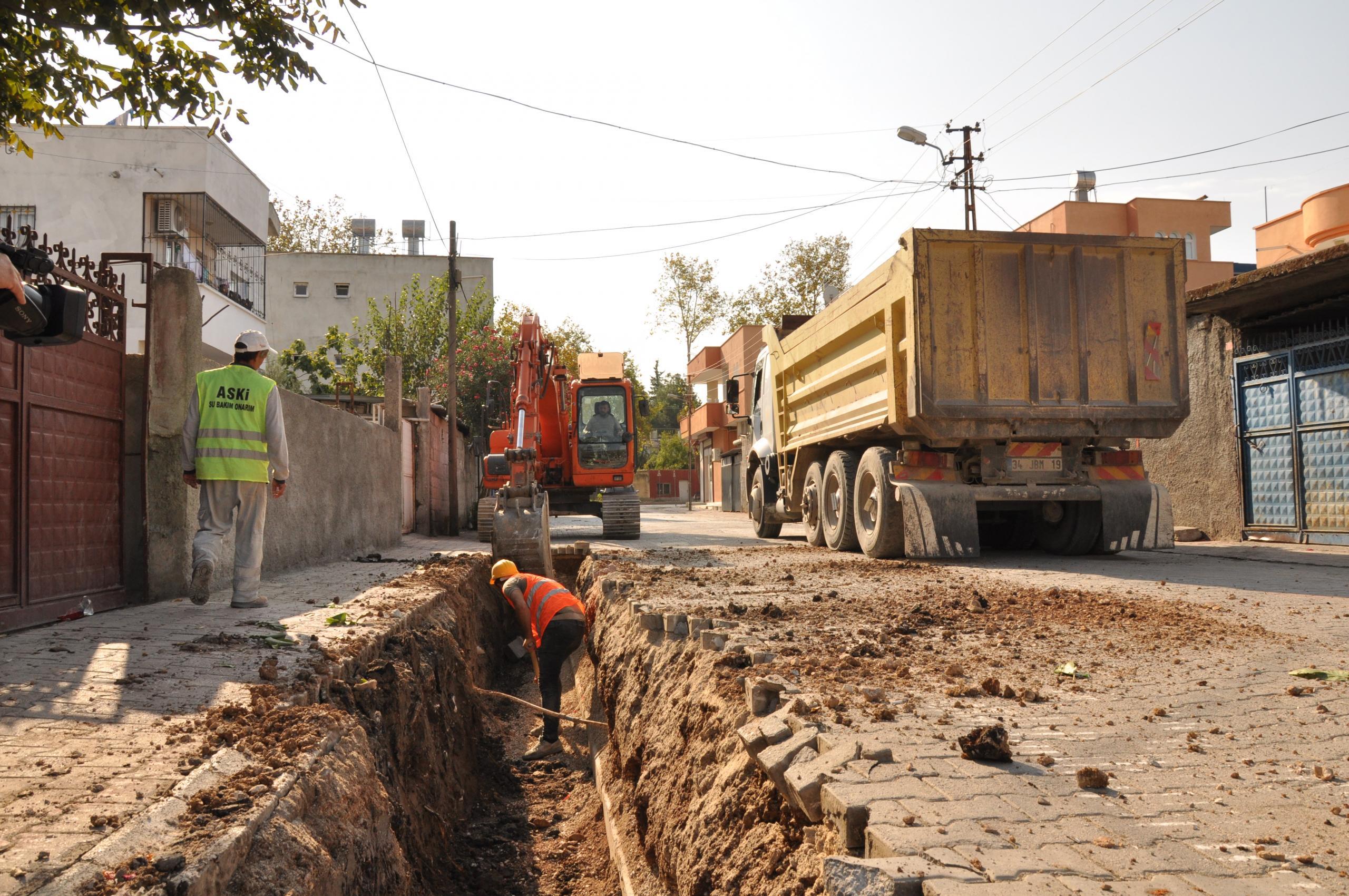 Kentte altyapı Şebekeleri Güçlendiriliyor