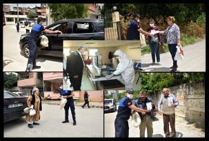 Adana'da Maske Dağıtılmayan Hane Kalmayacak