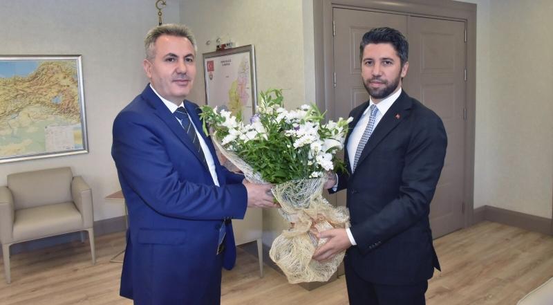 Mehmet Ay'dan Vali Elban'a: Hayırlı Olsun