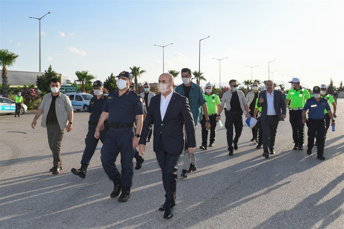 Osmaniye-Adana Arasına Yeni Yol Kontrol Noktası