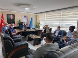 Başkan Erdem'den Boyvadaoğlu'na ziyaret