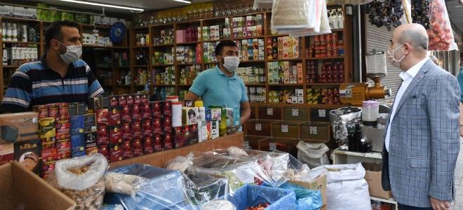 Vali Demirtaş'tan esnafa uyarı