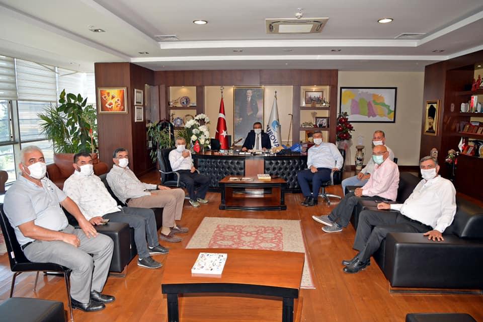 Başkan Soner Çetin'e örgütlerden tam destek