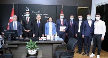 Eren Yıldırım Kılıçdaroğlu'nu Ziyaret Etti