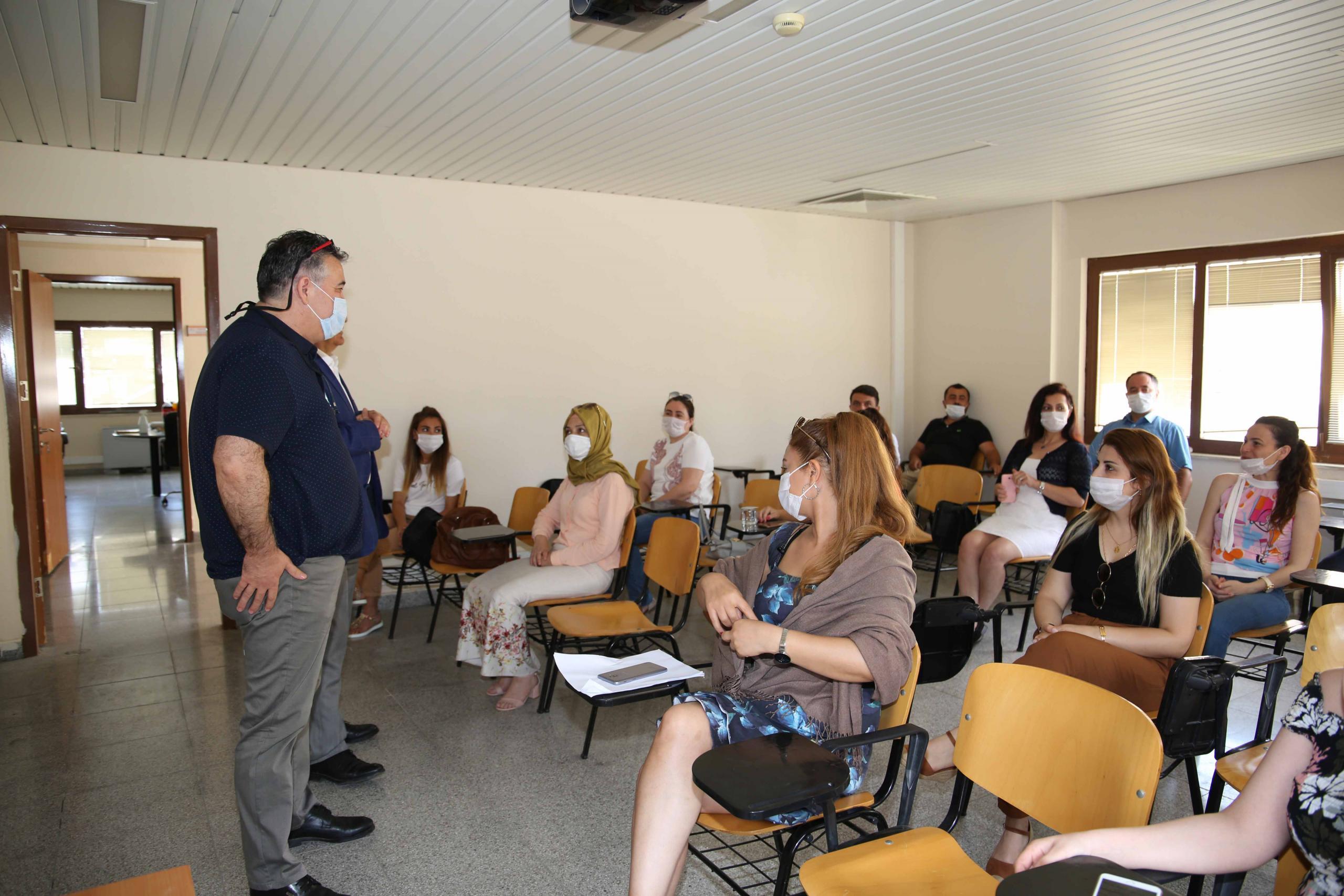 """153 Çağrı Merkezi çalışanlarına """"Güzel Konuşma"""" eğitimi"""
