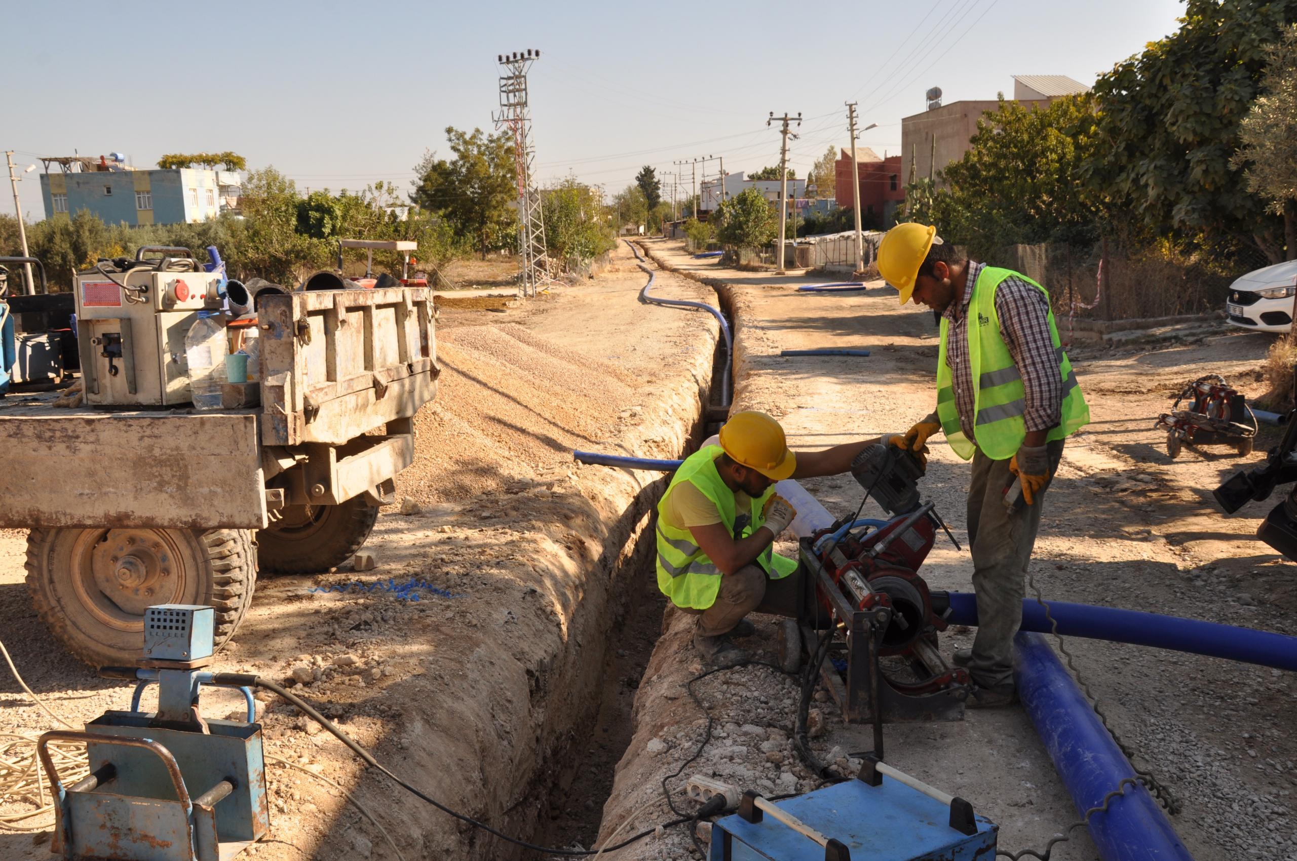 Adana sağlıklı suya ve modern altyapıya kavuşuyor