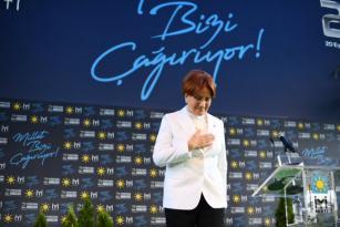 Meral Akşener, yeniden İYİ Parti'nin genel başkanı seçildi