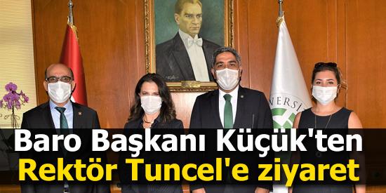 Adana Barosundan Prof. Dr. Meryem Tuncel'e ziyaret