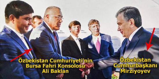 """Özbekistan Cumhuriyeti'nin Bursa Fahri Konsolosu Ali Baklan:""""MİRZİYOYEV'İN BM'DEKİ KONUŞMASI: TARİHİ HİTAP"""""""