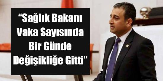 """""""Sağlık Bakanı Vaka Sayısında Bir Günde Değişikliğe Gitti"""""""