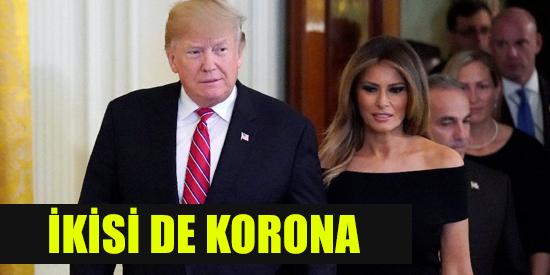 ABD Başkanı Trump corona virüsüne yakalandı