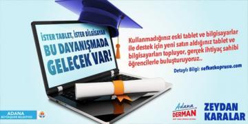 Eğitime destek için gönül köprüleri kuruluyor