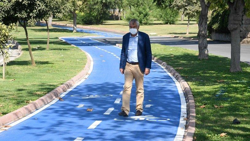 Karalar: Adana'yı bisiklet yollarıyla donatıyoruz
