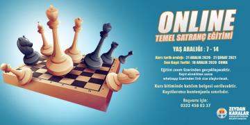 Büyükşehirden çocuklara online satranç eğitimi