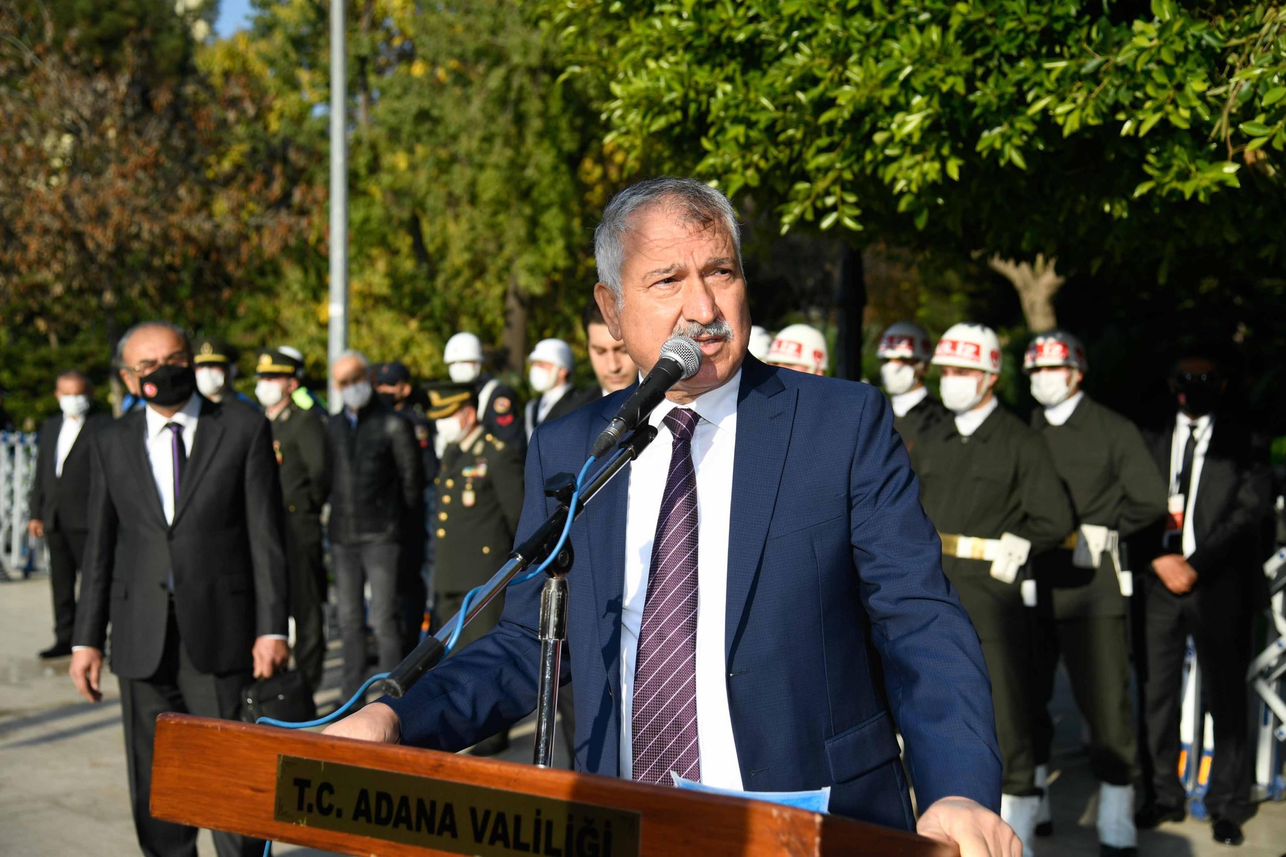 """Zeydan Kardalar, """"Nice acılar yaşandı, nice cefalar çekildi, şehitler verildi. Öyle kurtarıldı Adana."""""""