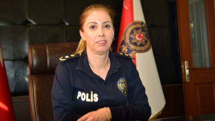Şehit polisin kızı şehrin ilk kadın ilçe emniyet müdürü oldu
