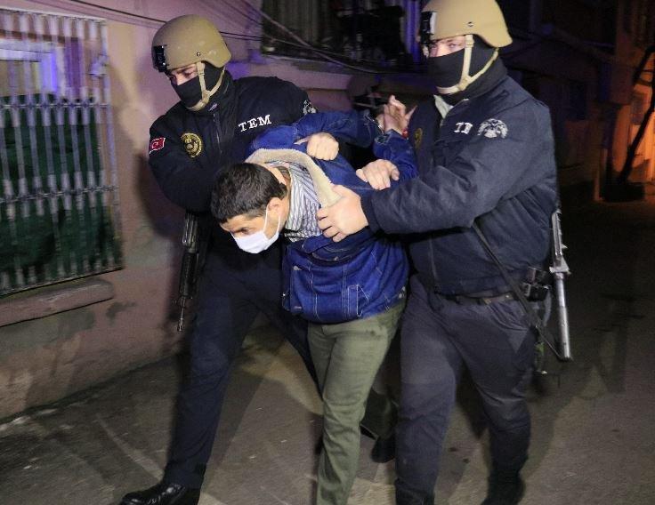 Adana'da 9 Yabancı Uyrukluya Terör Gözaltısı