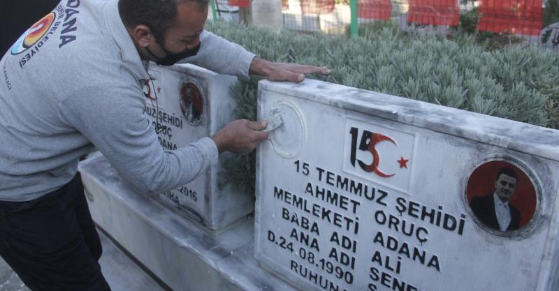 Şehit Mezarlarının Tahribine Tepki Yağdı
