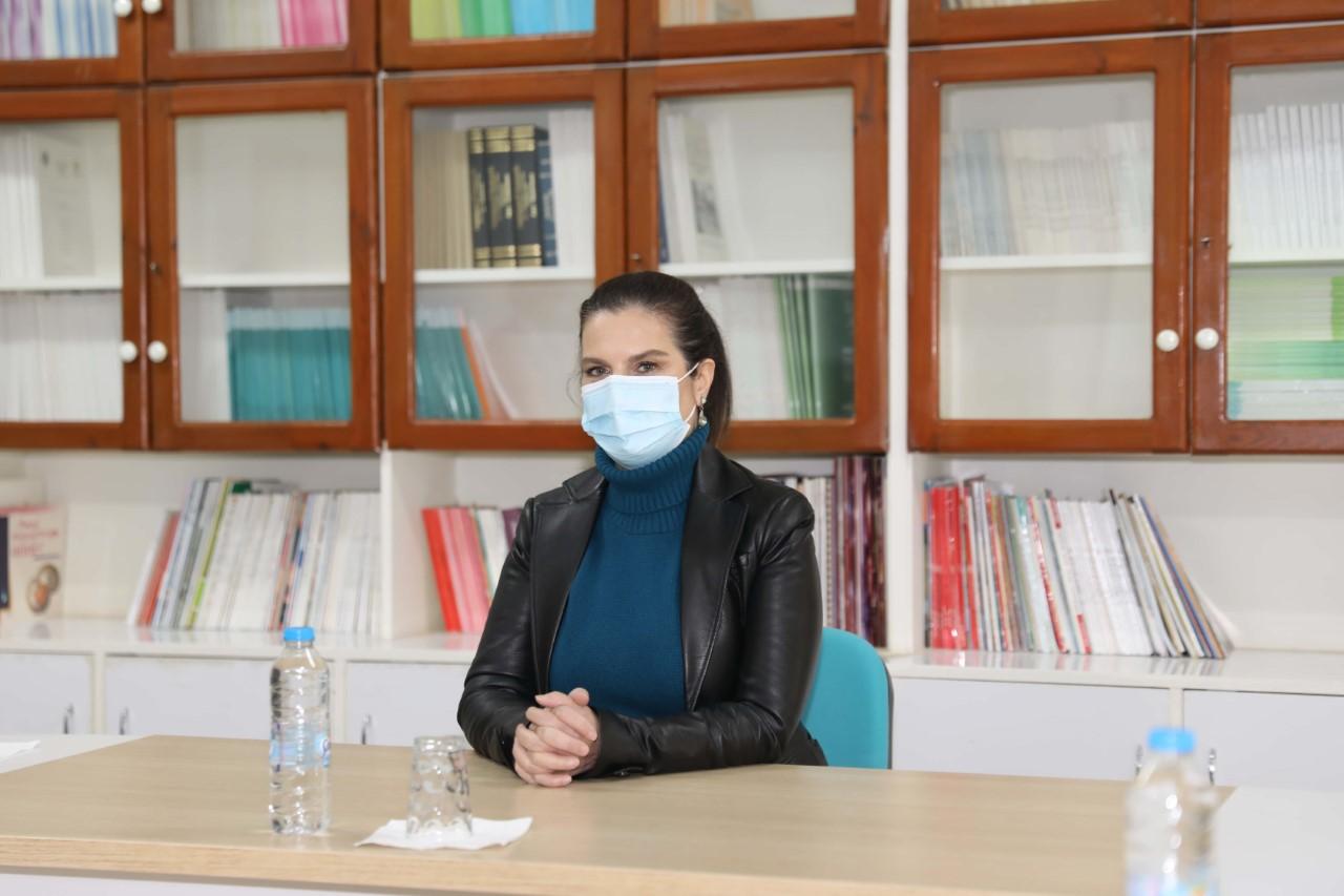 Rektör Prof. Dr. Tuncel Gıda Mühendisliği Bölümü'nü Ziyaret Etti