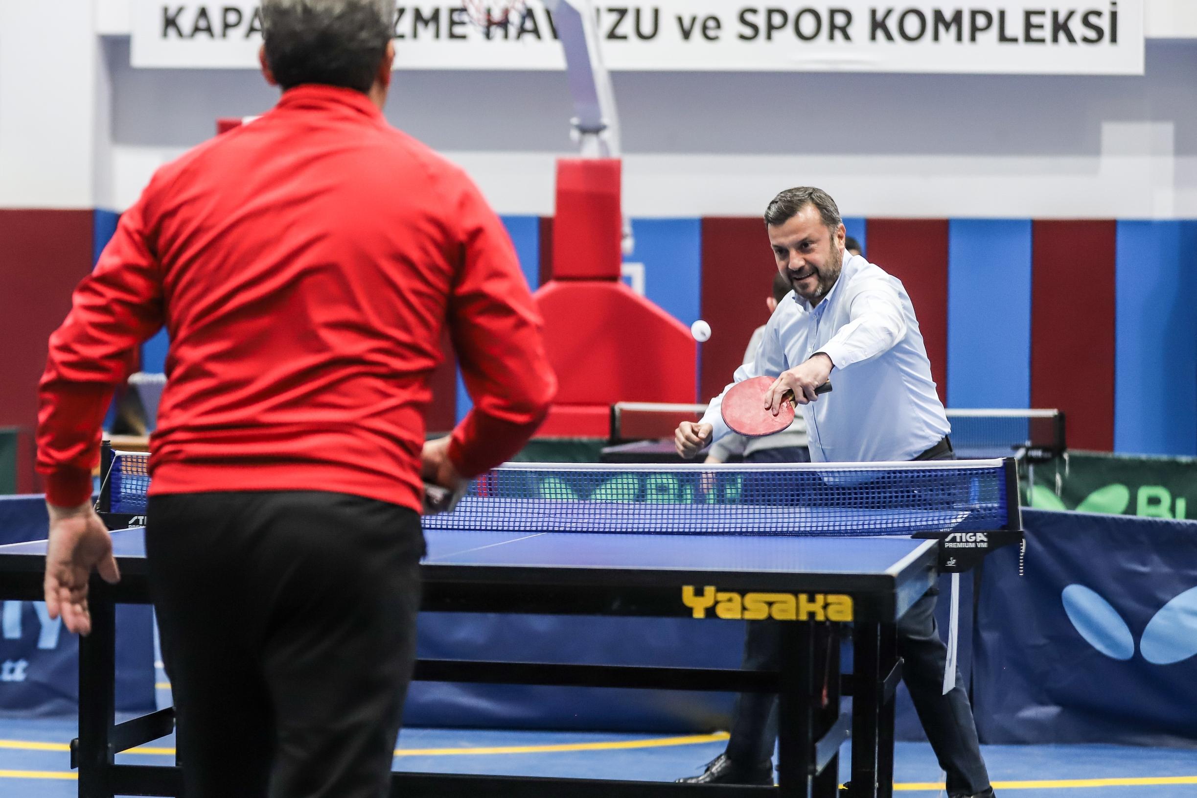 Yüreğir Belediyesi Masa Tenisi Turnuvası Nefes Kesti