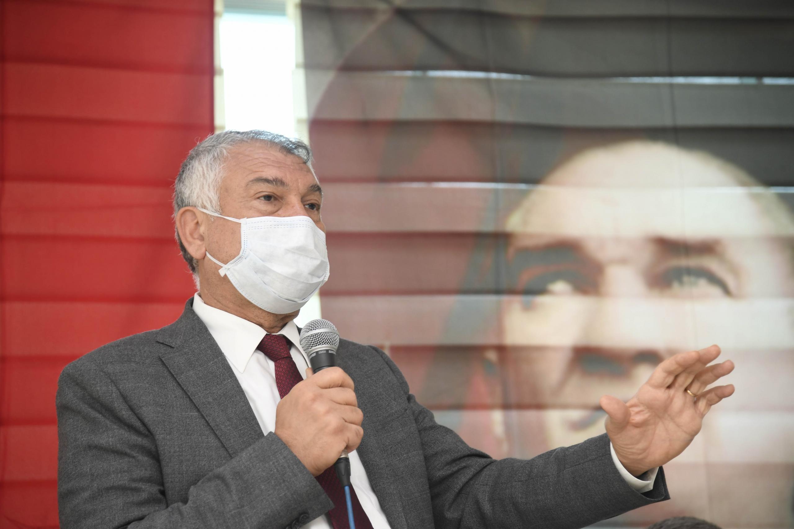 """Zeydan Karalar,""""Adana'nın her alanda hak ettiği yerde olması için çalışıyoruz."""""""
