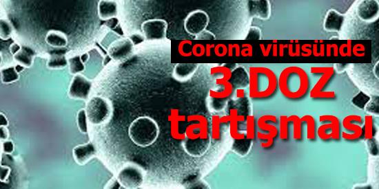 """Corona virüsü salgınına karşı aşılama süreci dünya genelinde devam ederken ABD'de """"üçüncü doz aşı olunmalı mı"""" tartışması başladı."""