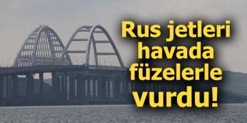 Rus jetleri havada füzelerle vurdu!