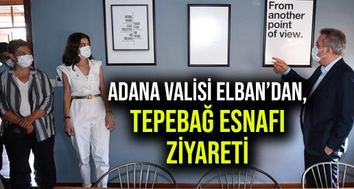Adana Valisi Elban, Startup Kafe'yi Ziyaret Etti