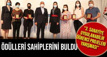 """""""3. Sanayiye Uygulanabilir Öğrenci Projeleri Yarışması"""" Ödülleri Sahiplerini Buldu"""