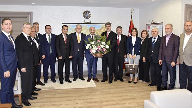Vali Demirtaş'a Vakıflar Haftası Ziyareti…