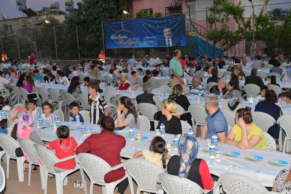 Başkan Çetin ilk iftarını Belediyeevleri'nde açtı