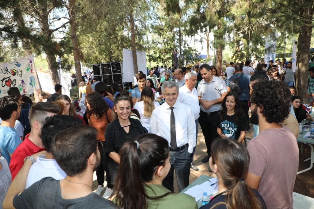 Çukurova Üniversitesinde 'Öğrenci Kulüpleri Tanıtım Günleri' Başladı