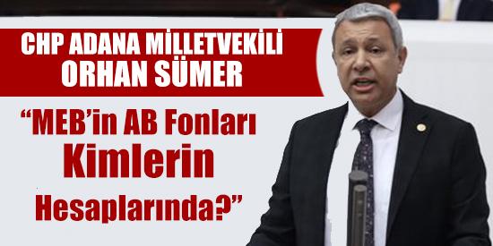 """""""MEB'in AB Fonları Kimlerin Hesaplarında?"""""""