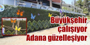 Büyükşehir çalışıyor Adana güzelleşiyor