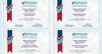 Çukurova Üniversitesi Eğitim Fakültesi Programlarının Kalitesi Tescillendi