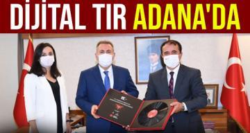 İletişim Başkanlığı Adana Bölge Müdürü Mustafa Keleş'ten Adana Valisi Elban'a ziyaret