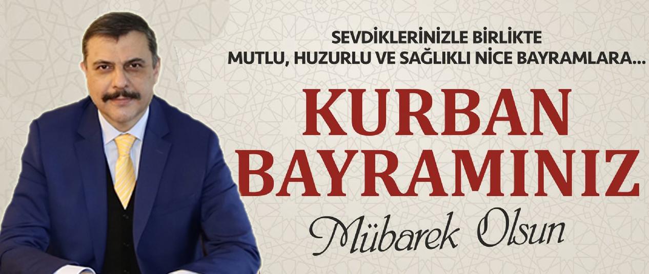 Çorum Valisi Sayın Mustafa ÇİFTÇİ'nin Kurban Bayramı Kutlama Mesajı