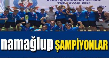 Sarıçam Belediyesi Spor Kulubü Hentbol Takımı Şampiyon